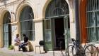 La cour de notre coworking à Toulouse